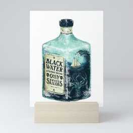 BLACK WATER Mini Art Print
