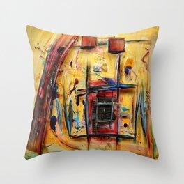 Acryl-Abstrakt 32 Throw Pillow