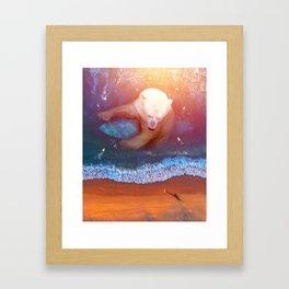 buoyant Framed Art Print