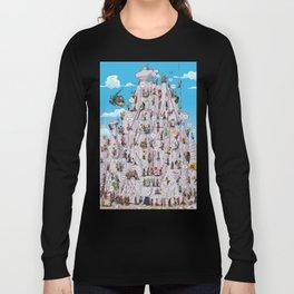Bubble climbing Long Sleeve T-shirt
