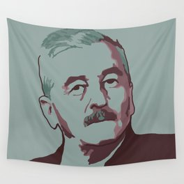 William Faulkner Wall Tapestry