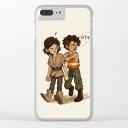 Ben & Poe Clear iPhone Case