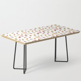 Autumn Leaves Pattern Coffee Table