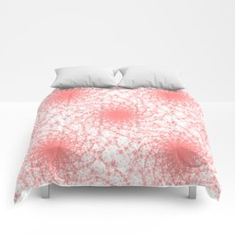Pink And White Rotation Comforters