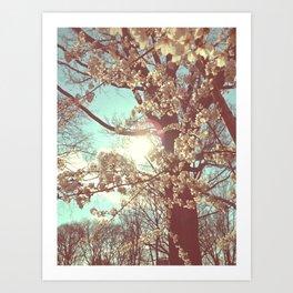 Floral Tree Art Print