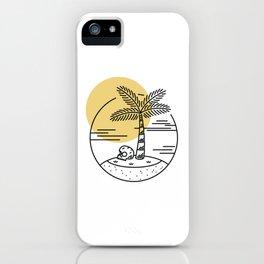 Spring Break Island - Day iPhone Case