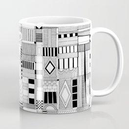 MOG black white Coffee Mug