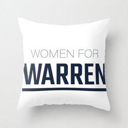 Elizabeth Warren 2020, Nevertheless She Persisted Throw Pillow