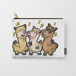 ALPACAPELLA A cappella Alpaca Llama Singer Chorus Carry-All Pouch