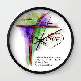 Greatest Love Wall Clock