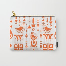 Danish Sun Birds and Flowers Carry-All Pouch