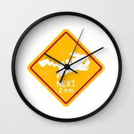 Pika Signs Wall Clock
