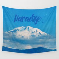 paradise Wall Tapestries featuring Paradise by RDelean