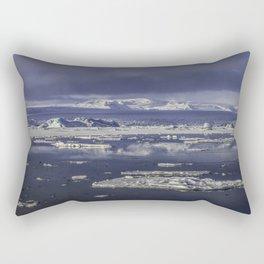 Glacial Lagoon 03 Rectangular Pillow