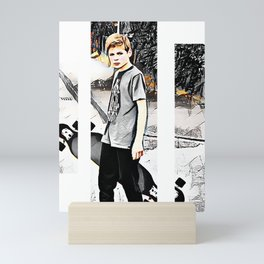 Skater boy Mini Art Print