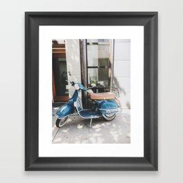 Old Stella the Scooter, South Philadelphia Framed Art Print