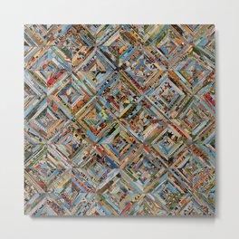 Texas Kaleidoscope Metal Print