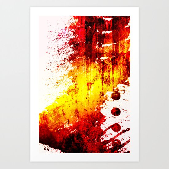 infected mind Art Print