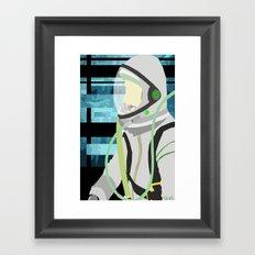 Kosmonaut Framed Art Print