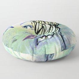 Fridalicious by Jane Davenport Floor Pillow