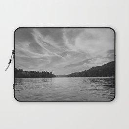 Black & White Up-State New York Laptop Sleeve