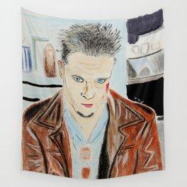 Brad Pitt-Tyler Durden Wall Tapestry