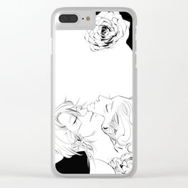 Rest after the hunt Clear iPhone Case