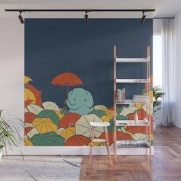Umbrellaphant Wall Mural
