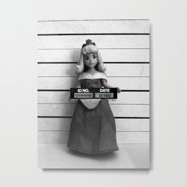 Sleeping Beauty Lineup Metal Print