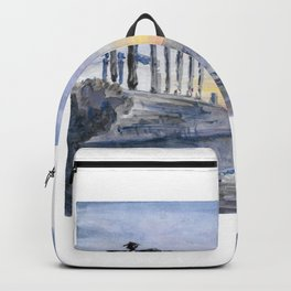 Cabo Sunion, Greece Backpack
