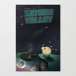 Earthbound - Greetings From Saturn Valley Canvas Print