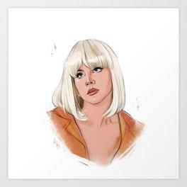 Cinnamon Girl Art Print