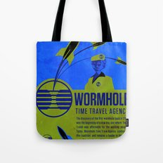 Time Travel Agency Tote Bag