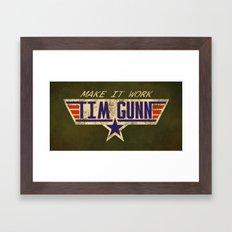 Make It Work! Framed Art Print