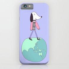Dog globe iPhone 6s Slim Case