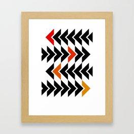 Arrows Graphic Art Design Framed Art Print