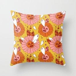 Daisyween Throw Pillow