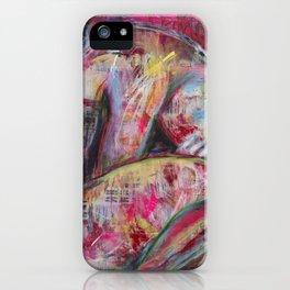 How the Sadness Swells/I Recall A Wonderful Moment (Pushkin) iPhone Case