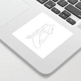 Single Nude Sticker