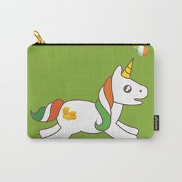 St. Patrick's Day Unicorn 3 Carry-All Pouch