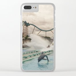 Europa Splash Clear iPhone Case
