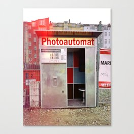 Photoautomat in Berlin Canvas Print