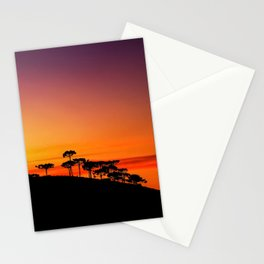 Araucaria Sunset Stationery Cards