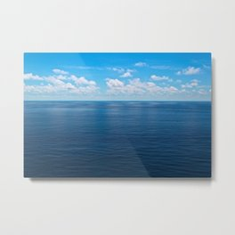 Blue World Metal Print