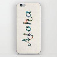 aloha iPhone & iPod Skins featuring Aloha! by basilique