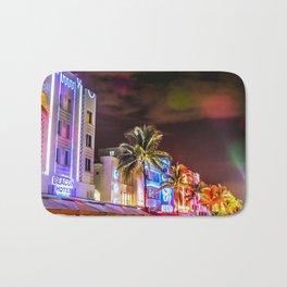 Ocean Drive South Beach Miami Florida Bath Mat