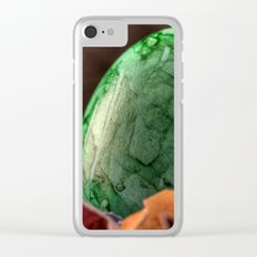 Easter 3 Clear iPhone Case