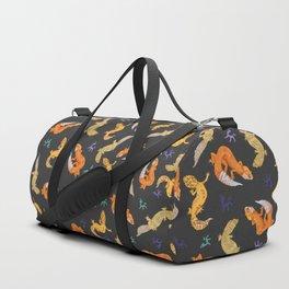Gecko pattern Duffle Bag