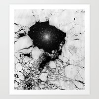 cracked Art Prints featuring Cracked by Andrea Orlic