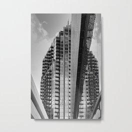 Uptown III Metal Print